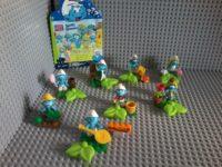 Lego compatible – Mega Bloks – 10757 Puffi Smurfs Shlumpfs – Collectibles series