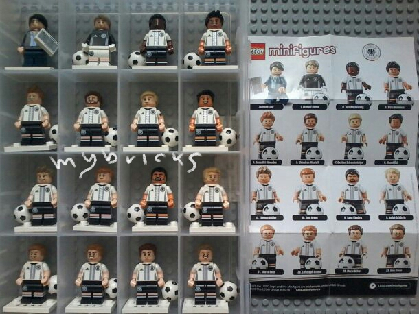 Lego 71014 The Mannschaft - Minifigures Collectibles Lego - May 2016