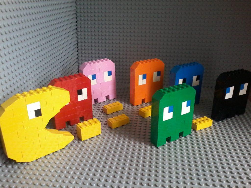 Lego Pac Man!