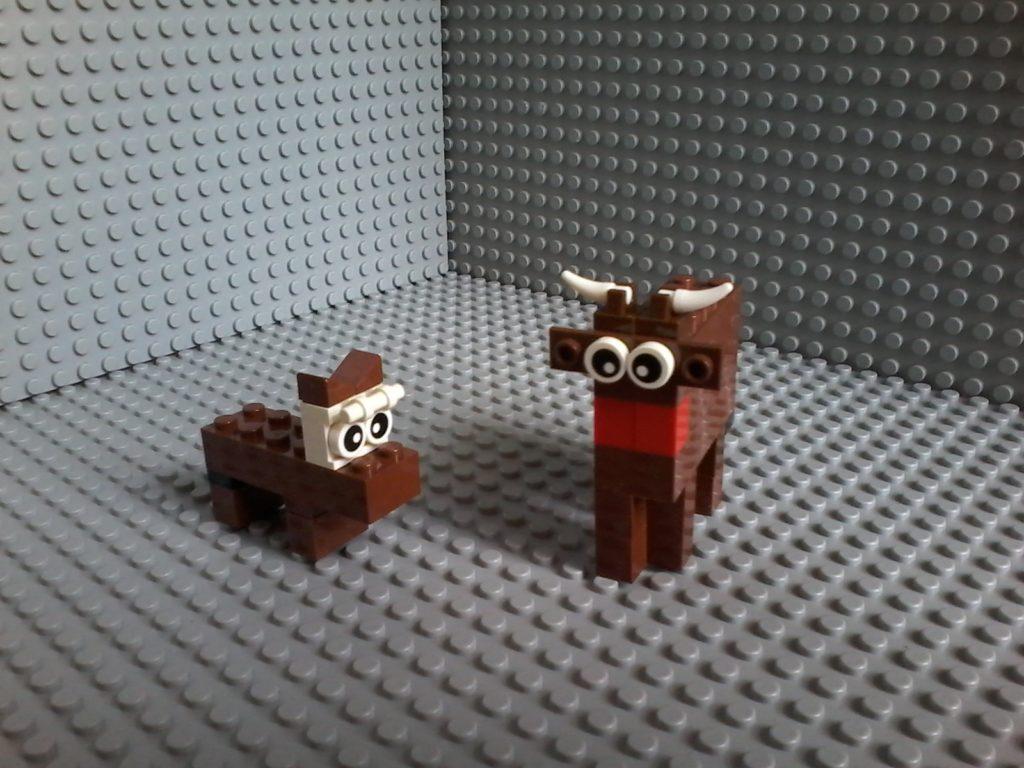 Lego Toro Bull