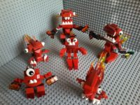 Lego Mixels Series 1 - 41500 41502 41501 FLAIN ZORCH VULX INFERNITES Lego May 2014