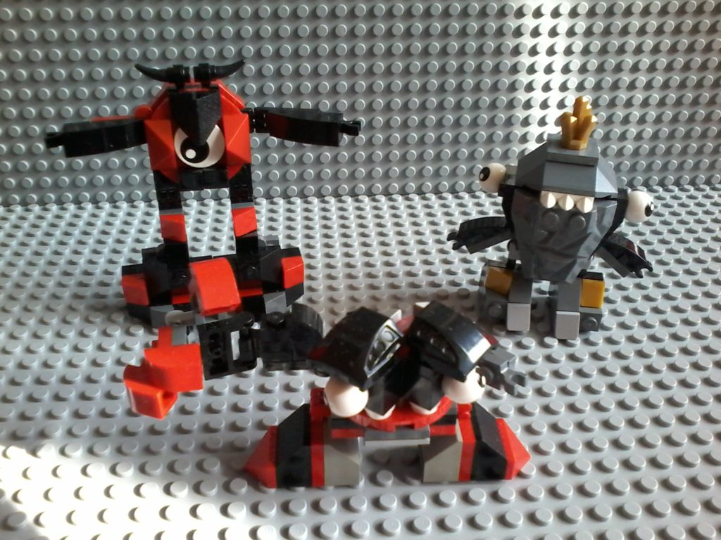 Lego Mixels Series 1 - 41503 41505 41504 KRADER SHUFF SEISMO Lego May 2014