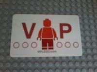 Lego VIP Card
