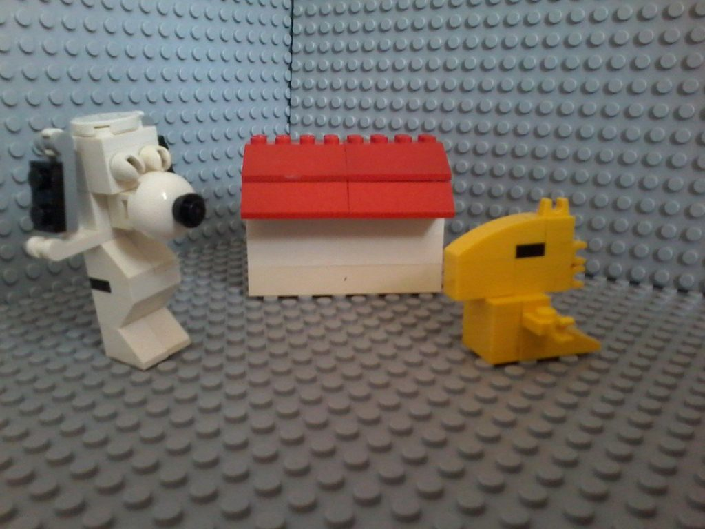 Lego Snoopy & Woodstock
