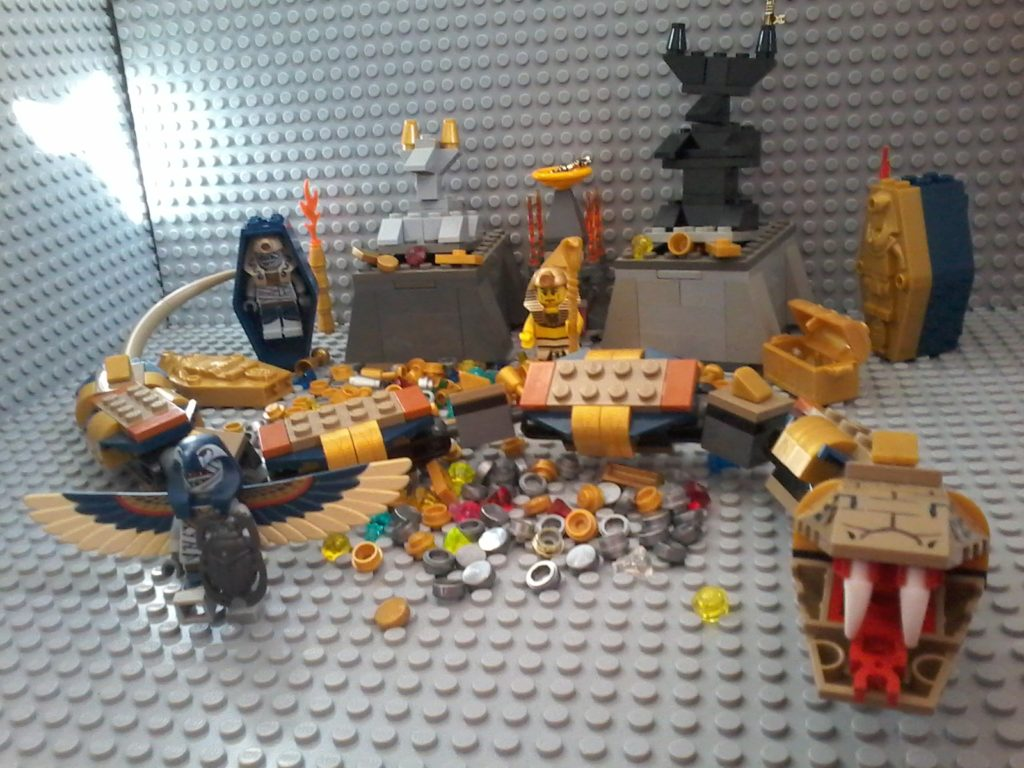 Lego Snake Pharaoh's Quest inspired by Lego set 7325