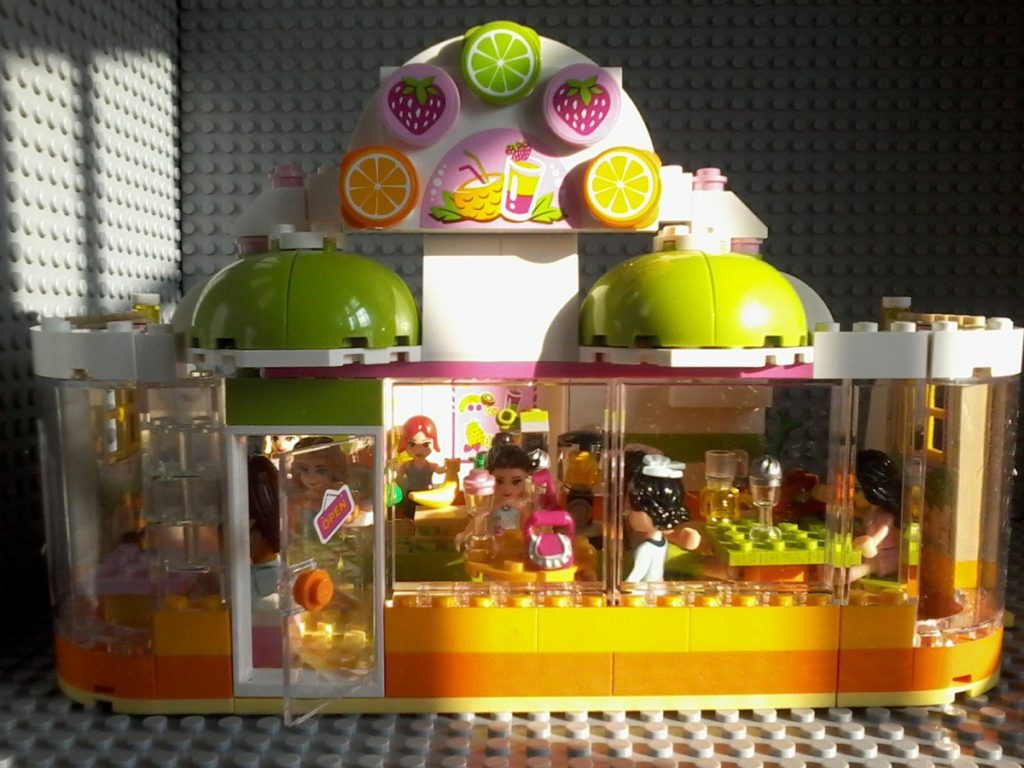 Lego 41035 Juice Bar Lego Juice Bar inspired by Lego set 41035