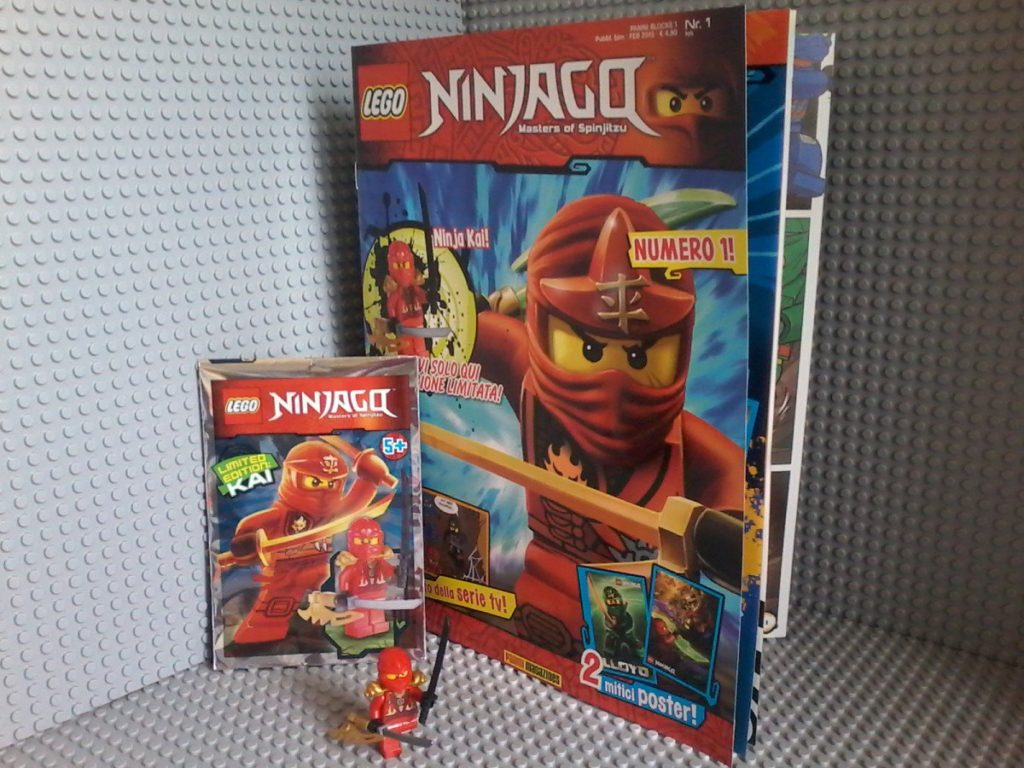Lego Magazine Ninjago - Feb. 2015 Ninja Kai Included!