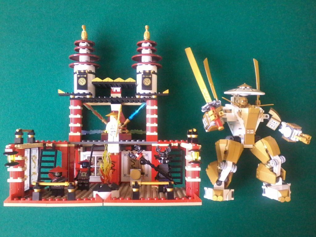 Lego 70505 Ninjago The final battle - 2013 Golden ninja included!