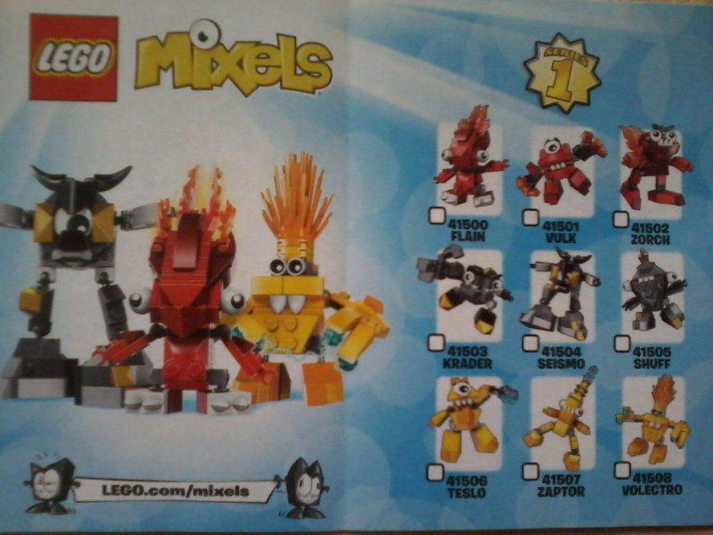 Lego Mixels Series 1