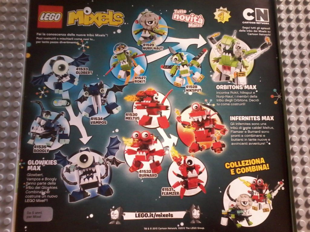 Lego Mixels Series 4 February  2015