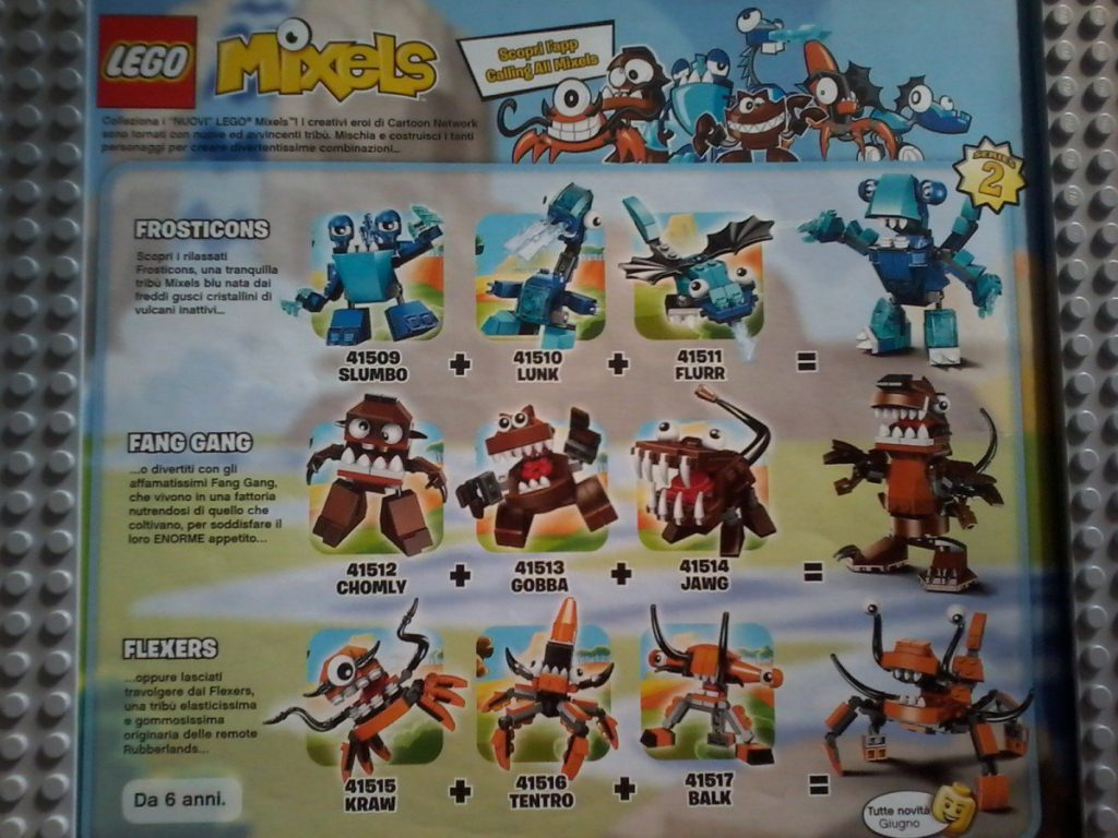 Lego Mixels Series 2 June 2014