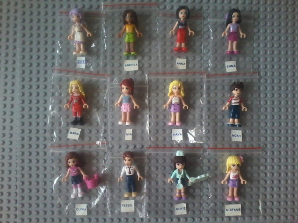 Lego Friends Name - Minifigures Names