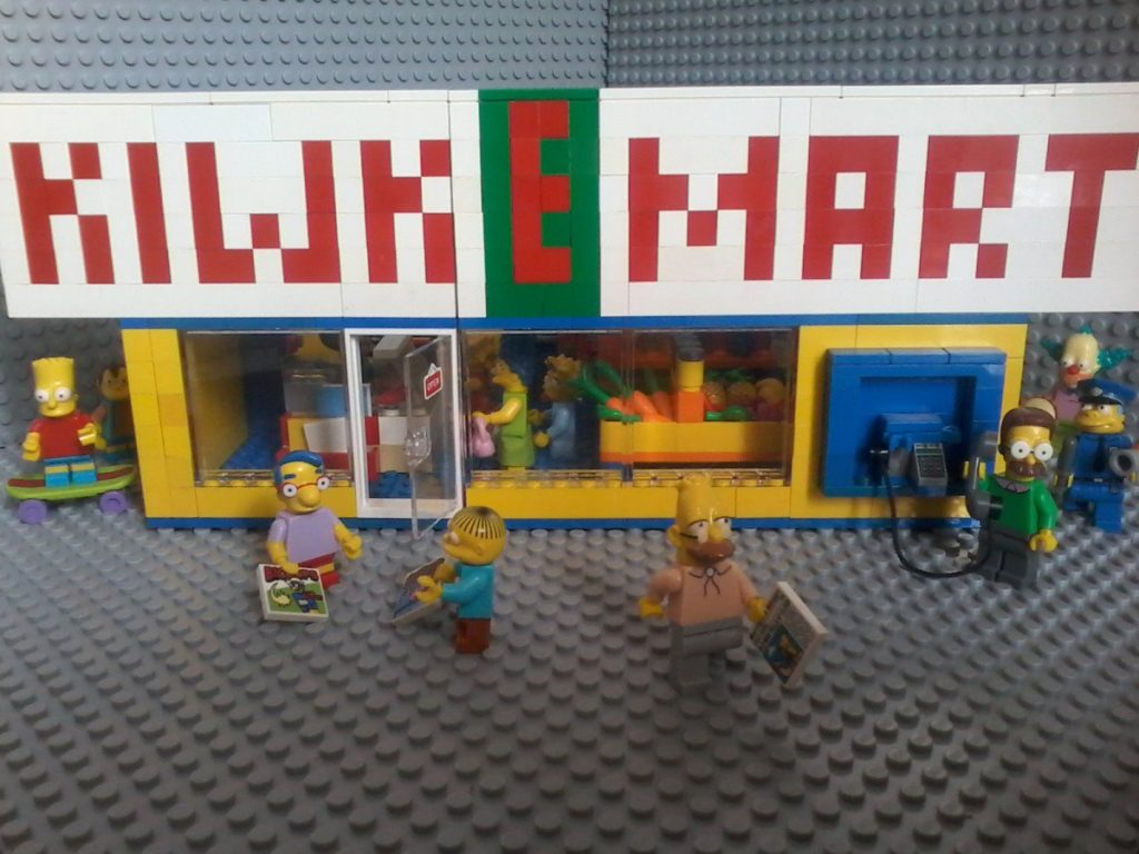 Lego Simpson KIWK E MART market - Set 71016 Preview