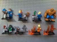 Lego compatible – Sheng Yuan – Fantastic Four Collectible Series