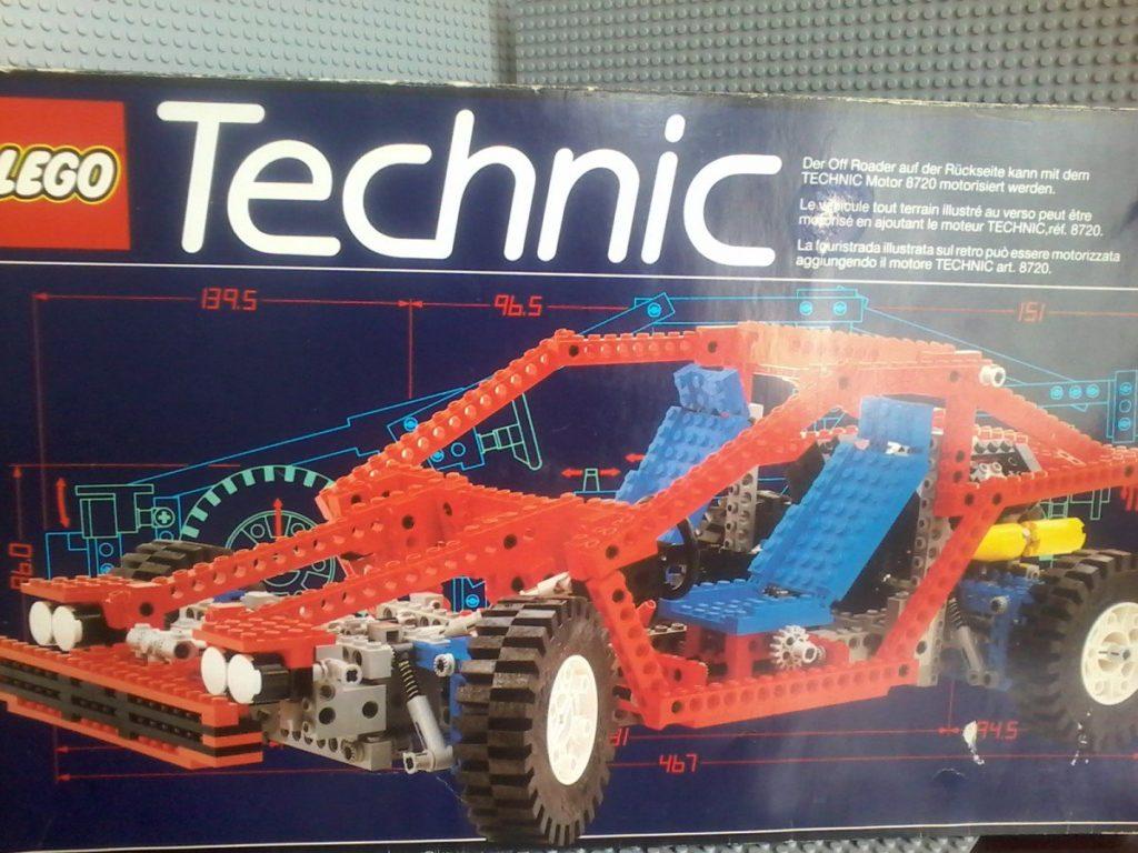 Lego Technic 8865 Test Car Lego 1990