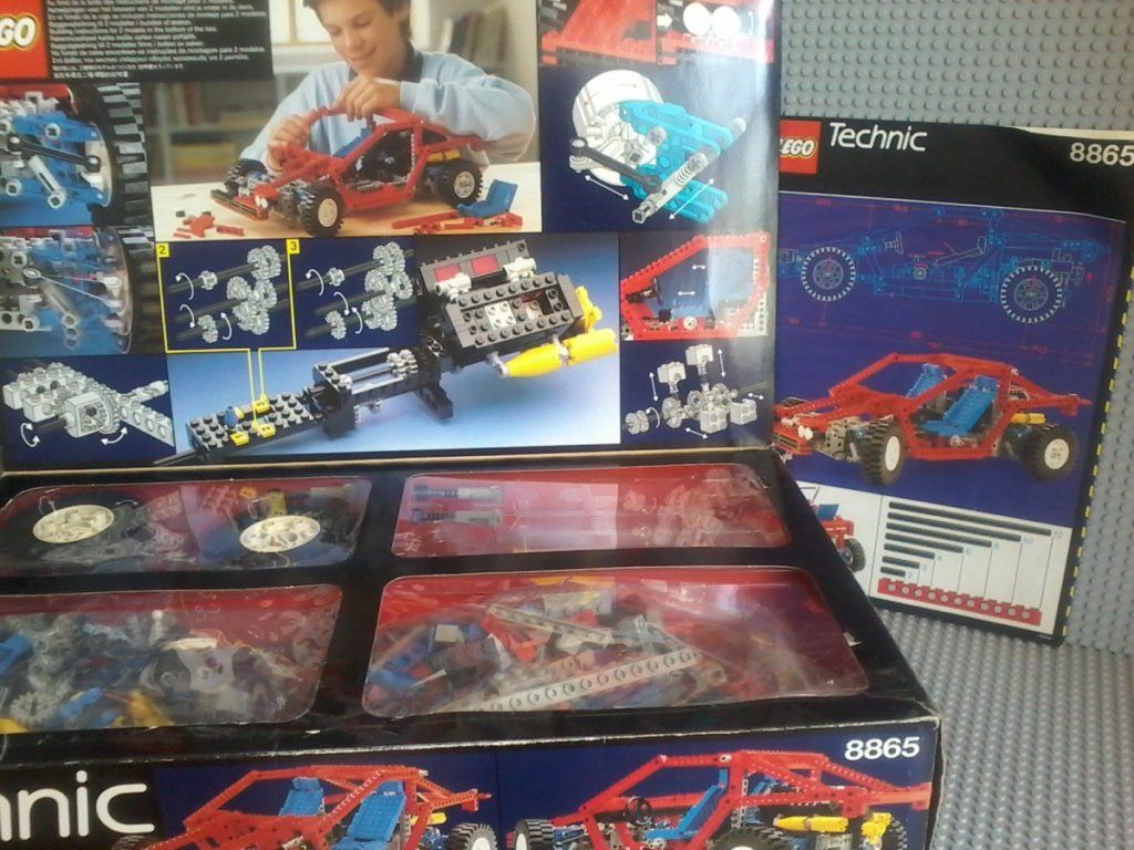 Lego Technic 8865 Test Car Complete in original box (Item can be motorized with Lego Technic 8720)