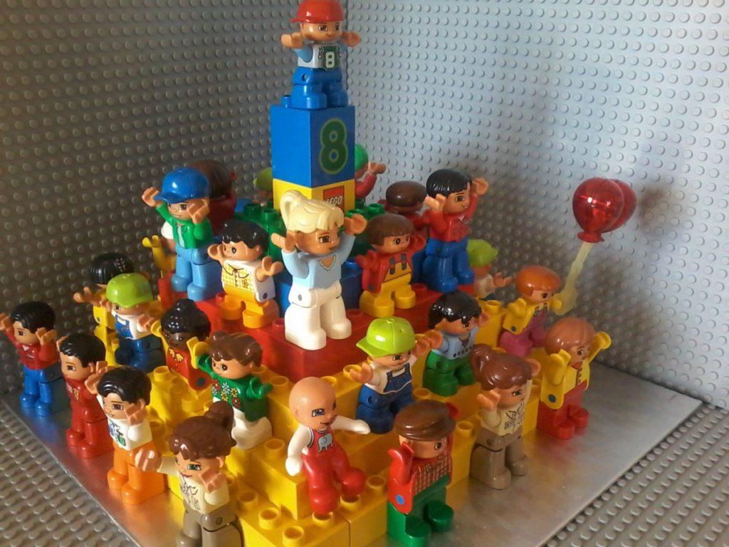Lego Duplo birthday cake - Torta di Compleanno