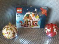 Lego 40139 Gingerbread House – Casetta Pan di zenzero Marzapane