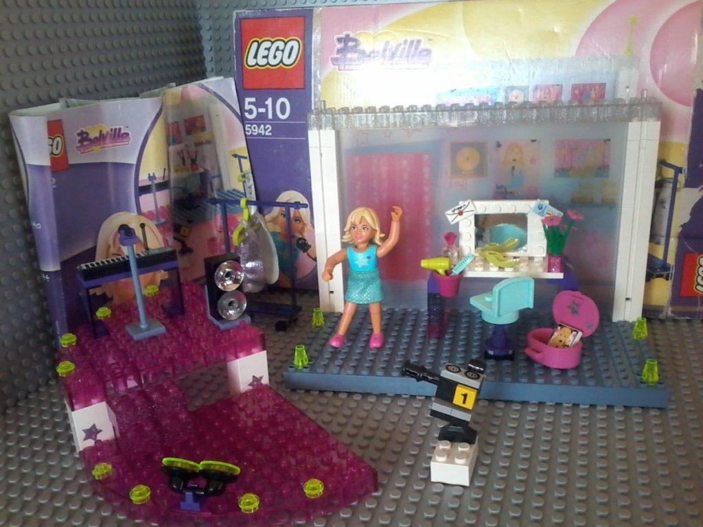 Lego 5942 Bellville Pop studio Lego 2004