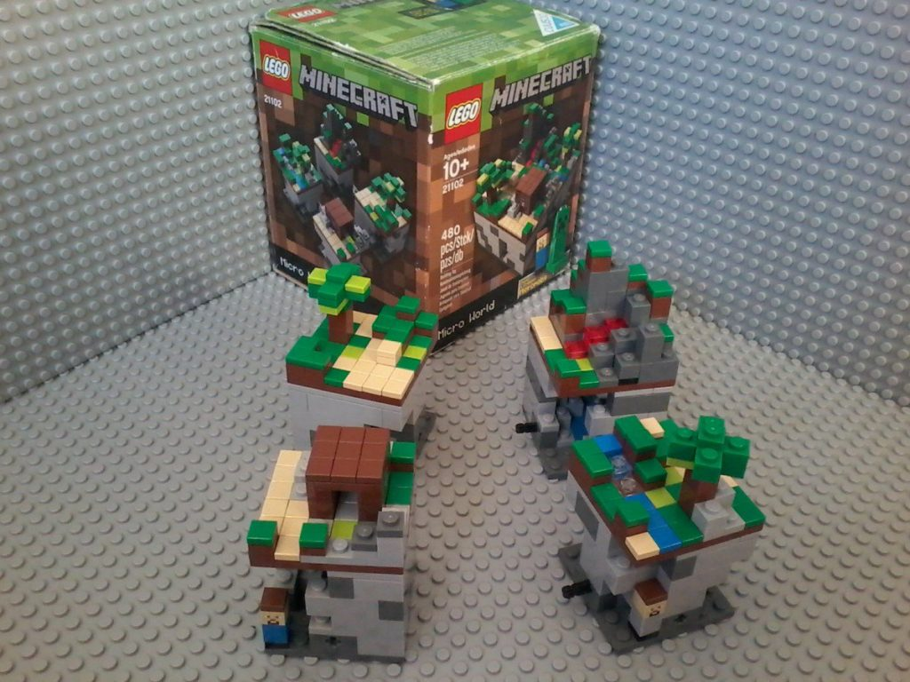 Lego 21102 Minecraft Forest
