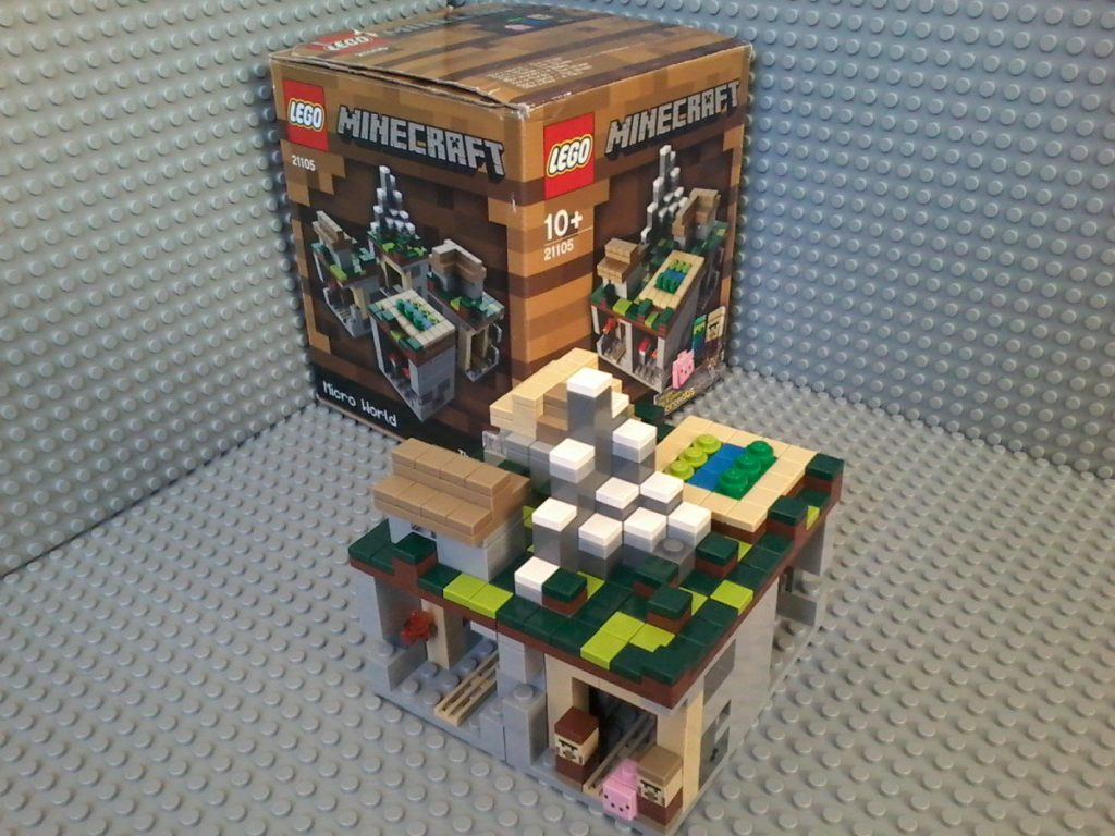 Lego 21105 Minecraft Village