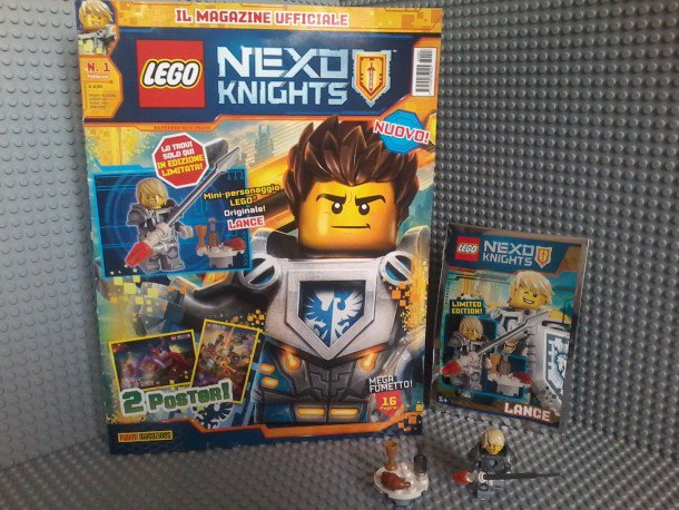 Lego Magazine Nexo Knights Panini comics February 2016