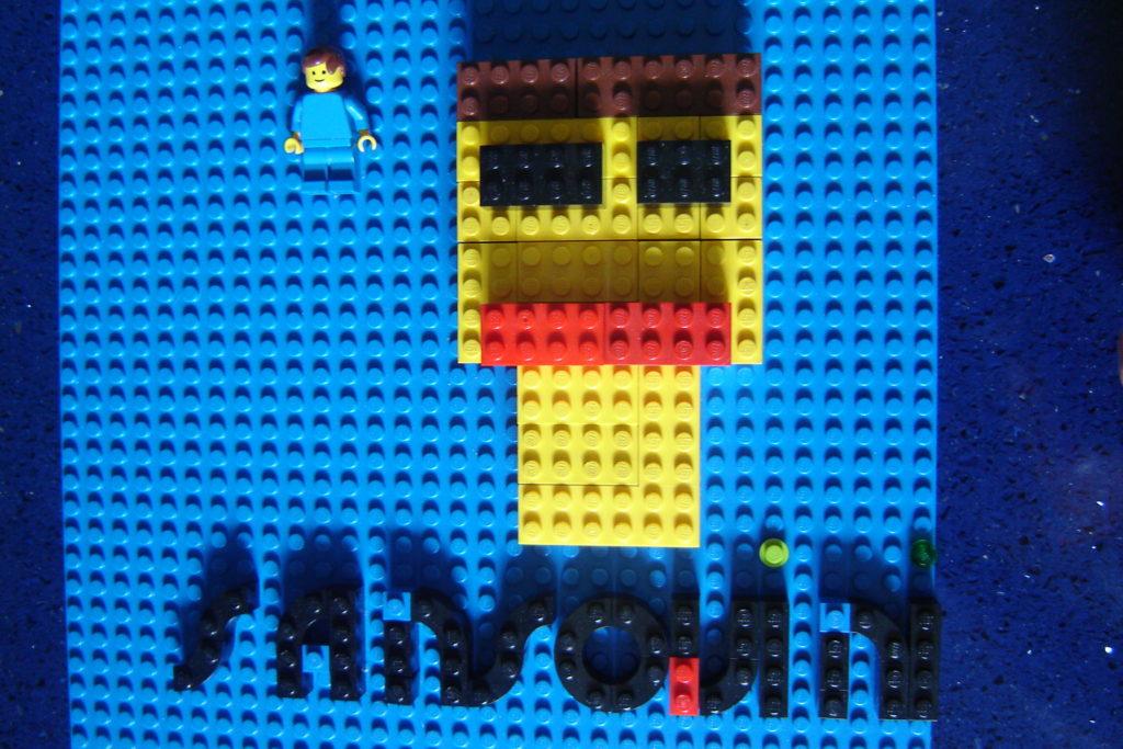 Lego Forza Pescara! Forza Sansovini!