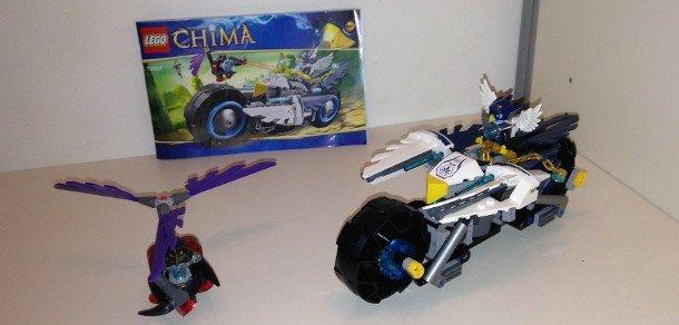 Lego 70007 Legends of CHIMA - Eglor's Twin Bike