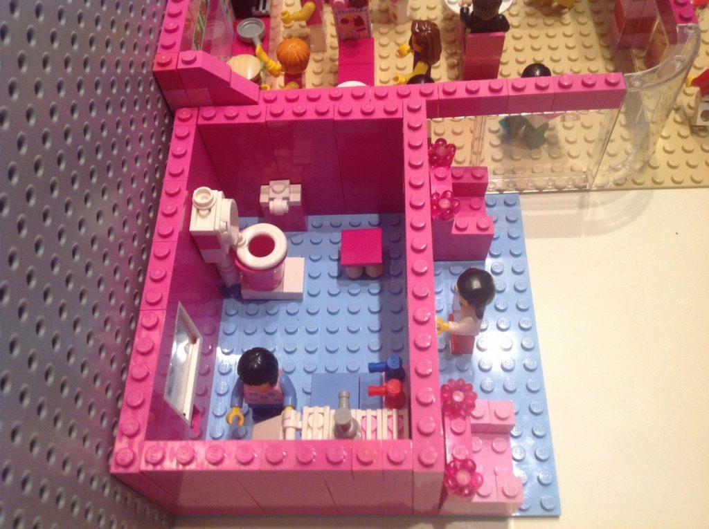 Lego Cafe - Toilette