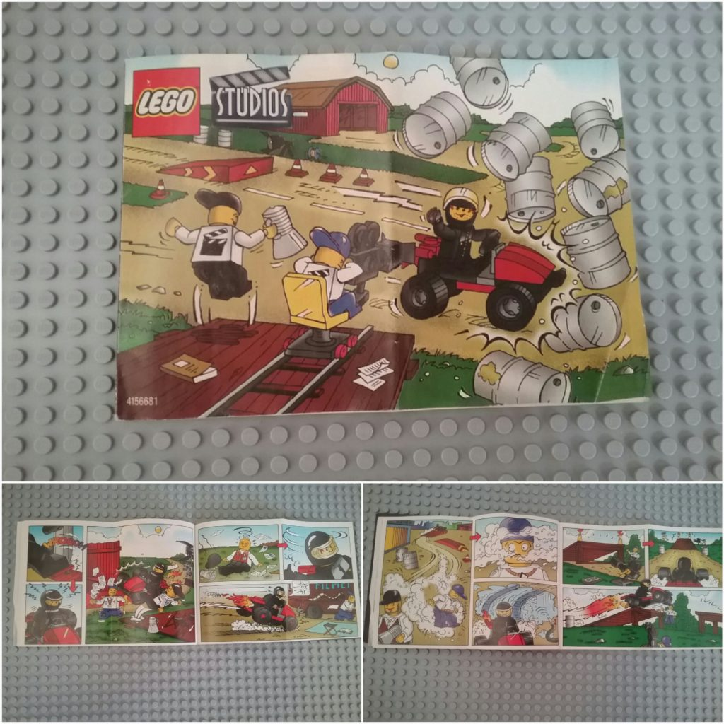 Lego studios 1361 Camera Car comics
