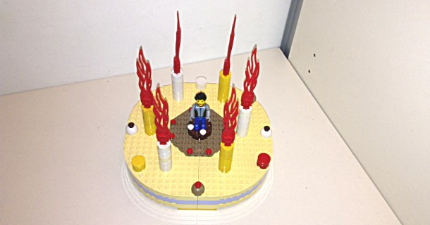 Tortina Lego - Birthday cake