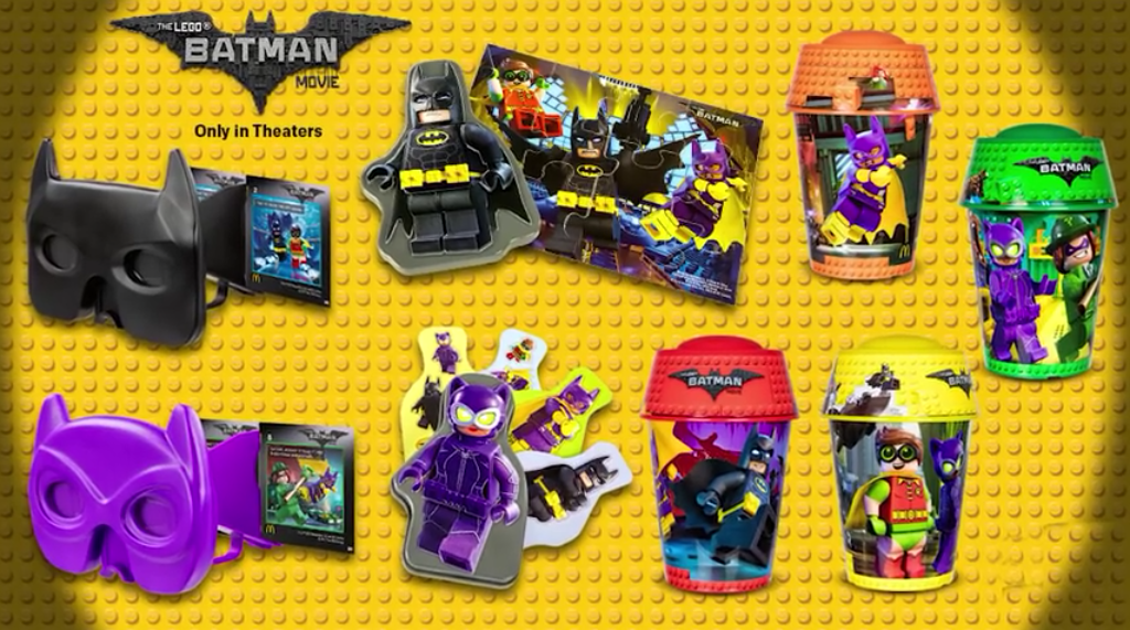 Lego Batman Movie - Happy meal Mc Donald