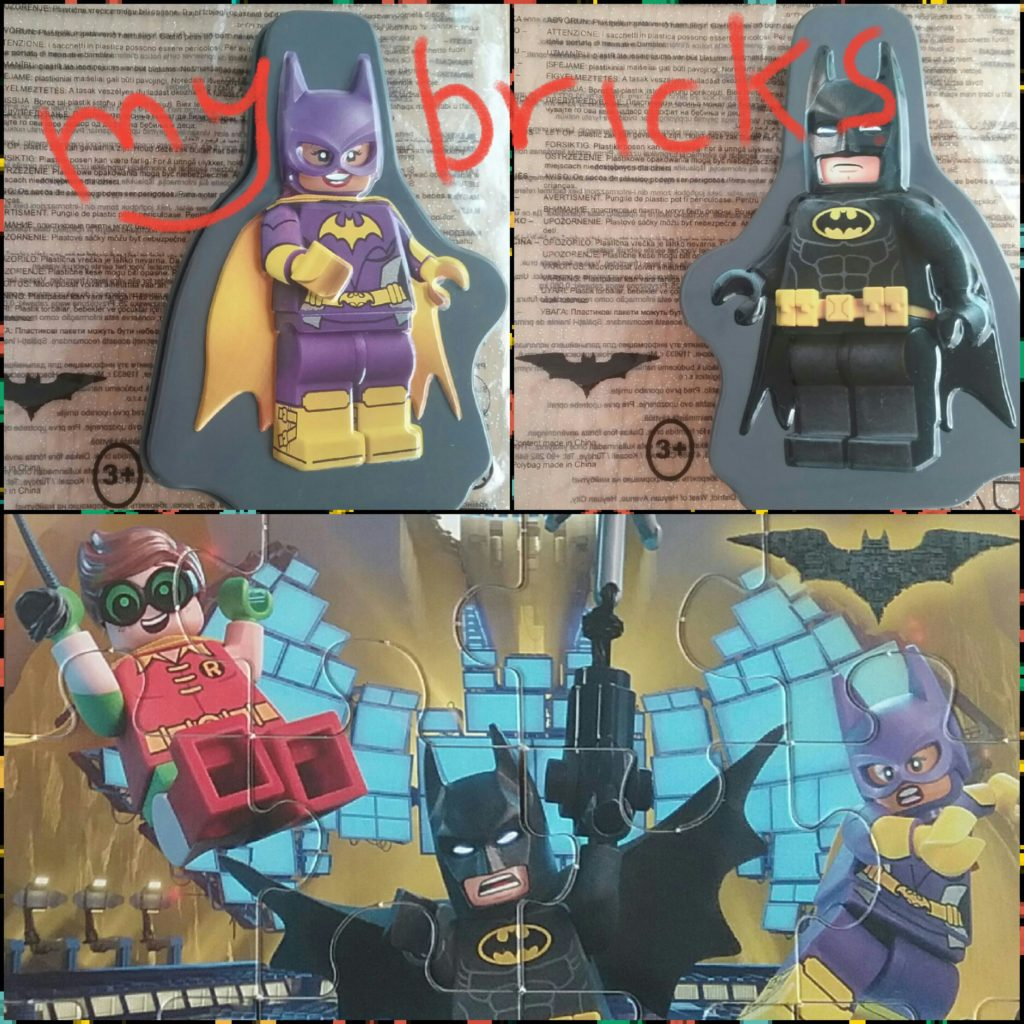 Lego Batman Puzzle – Happy Meal Mc Donald Available from 23.2.2017 to 2.3.2017