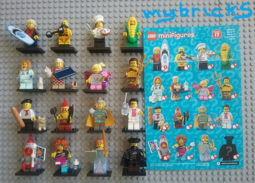 Lego 71018 Minifigures Serie 17 - Collectibles Series June 2017 Coming soon: Lego Ninjago Collectibles Minifigures!