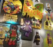Lego Batman Stickers – Happy Meal Mc Donald