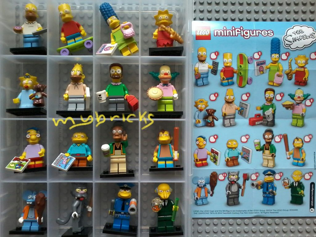 Lego 71005 Minifigures Serie Simpson – Collectibles Series Lego July 2014