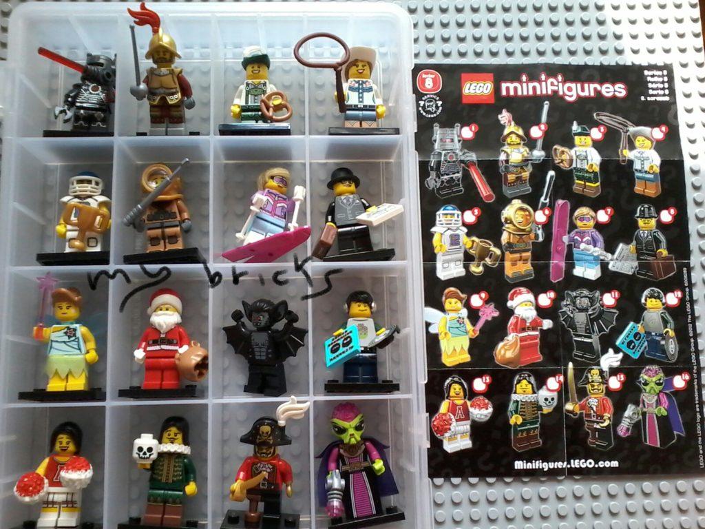 Lego 8833 Minifigures Serie 8 - Collectibles Series Lego November 2012