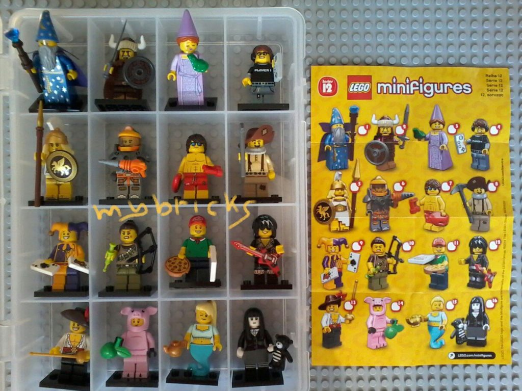 Lego 71007 Minifigures Serie 12 – Collectibles Series Lego Oct . 2014