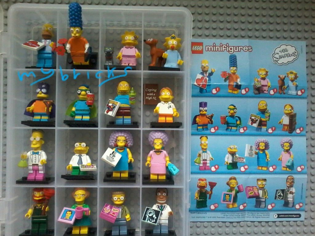 Lego 71009 Minifigures Serie Simpson - Collectibles Series April 2015