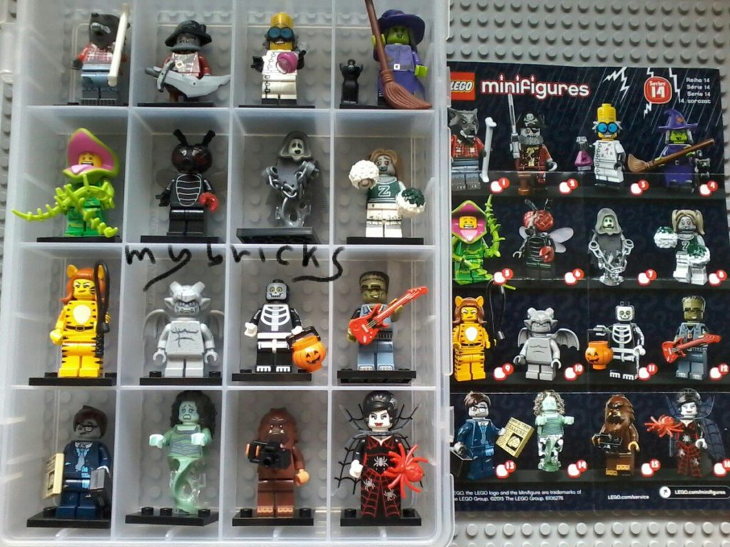 Lego 71010 Minifigures Serie 14 - Collectibles Series September 2015