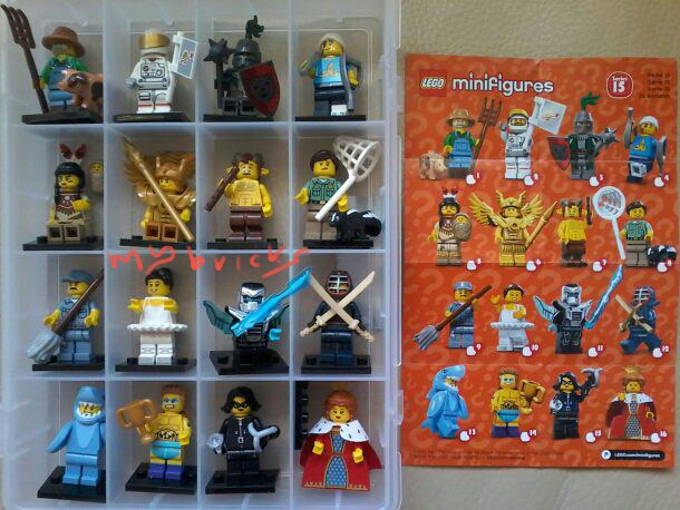 Lego 71011 Minifigures Serie 15 - Collectibles Series Lego February 2016