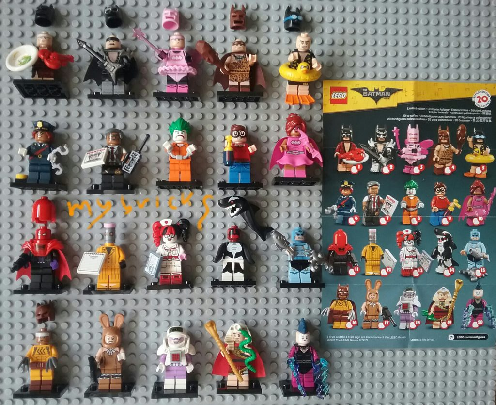 Lego 71017 Minifigures Serie Lego Batman Movie - Collectibles Series Lego January 2017