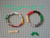 Lego Jewelry – Bracelet jewel – plates modified