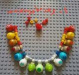 Lego Jewelry – Necklace domes jewel