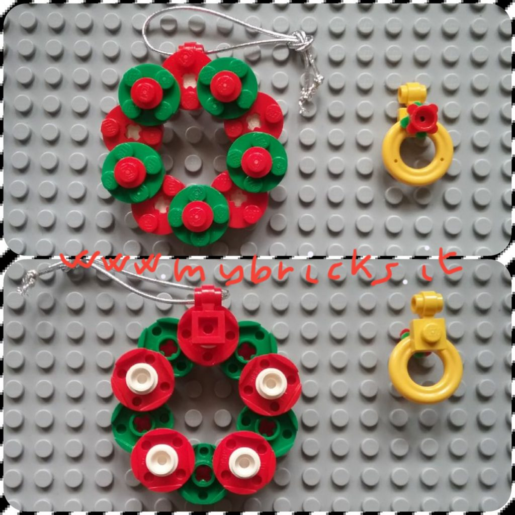 Lego Christmas Wreath