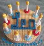 Lego Candle Pie