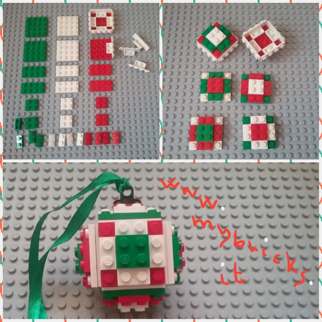Lego Christmas Decoration