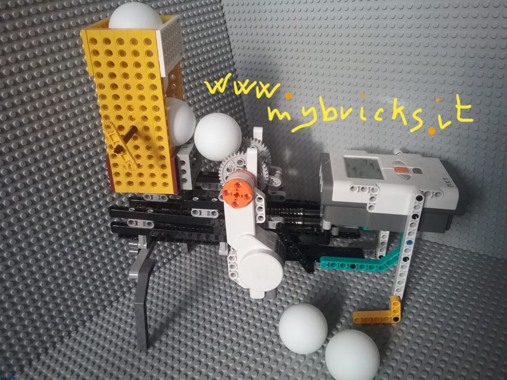 Lego Ping Pong dispenser
