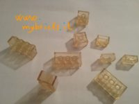 Lego Samsonite clear bricks – from set 045?
