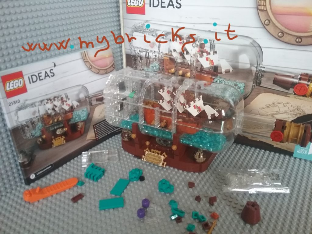 Lego 21313 - Ship in the bottle